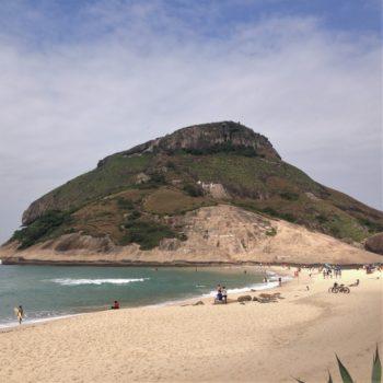praia do recreio e pedra do pontal
